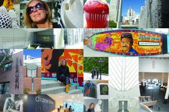 San Francisco, SFMOMA, Yerba Buena Gardens, Martin Luther King Memorial, Gallery Berggruen and The Mexican Museum